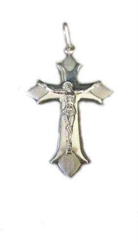 Lindo Pingente Modelo Crucifixo Prata 925 Maciça 3,5 Gramas