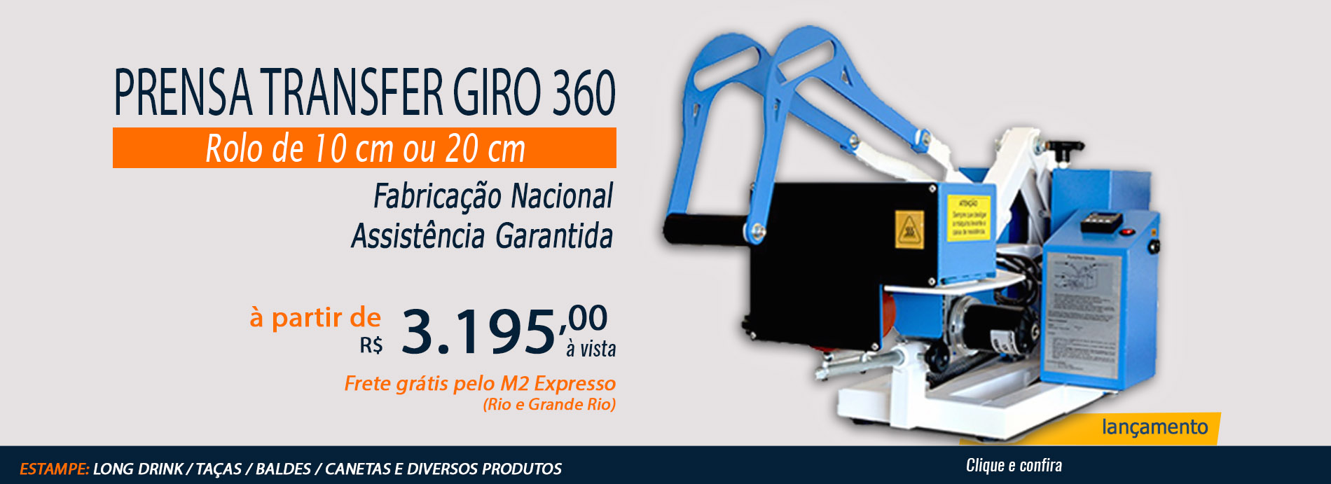 Prensa Transfer Giro 360
