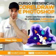 CURSO PRESENCIAL DE COREL E PHOTOSHOP PARA PERSONALIZADOS