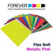 FLEX SOFT A4 NO CUT METALICO PINK - FOREVER