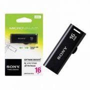 PEN DRIVE USM16GRA/BB 16GB PRETO - SONY