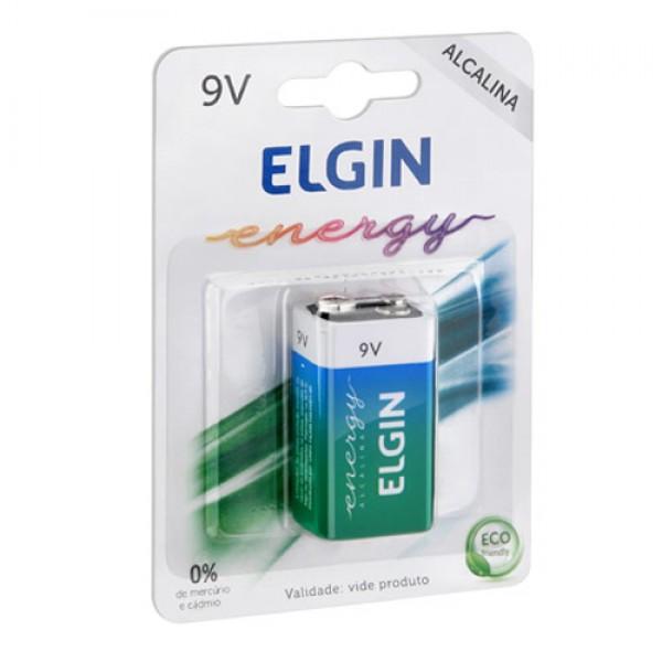 BATERIA 9V 6LR61 BLISTER C/ 1 - ELGIN