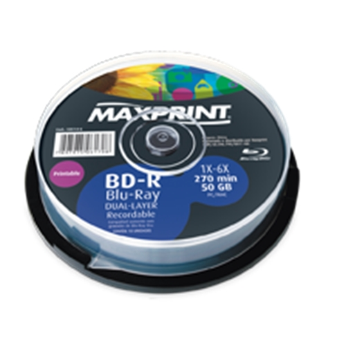 BD-R DL MAXPRINT 50GB 4X PRINTABLE