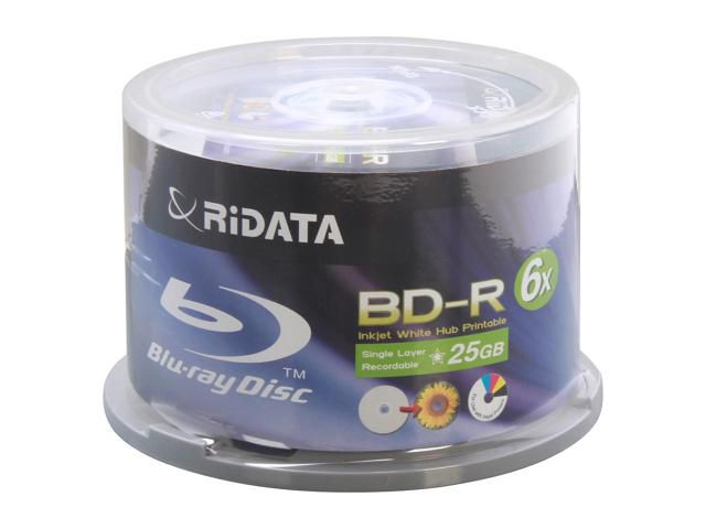 BD-R RIDATA 25GB 10X PRINTABLE