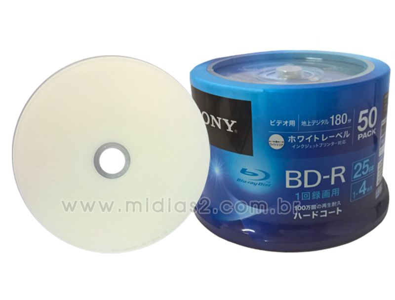BD-R SONY 25GB 6X PRINTABLE