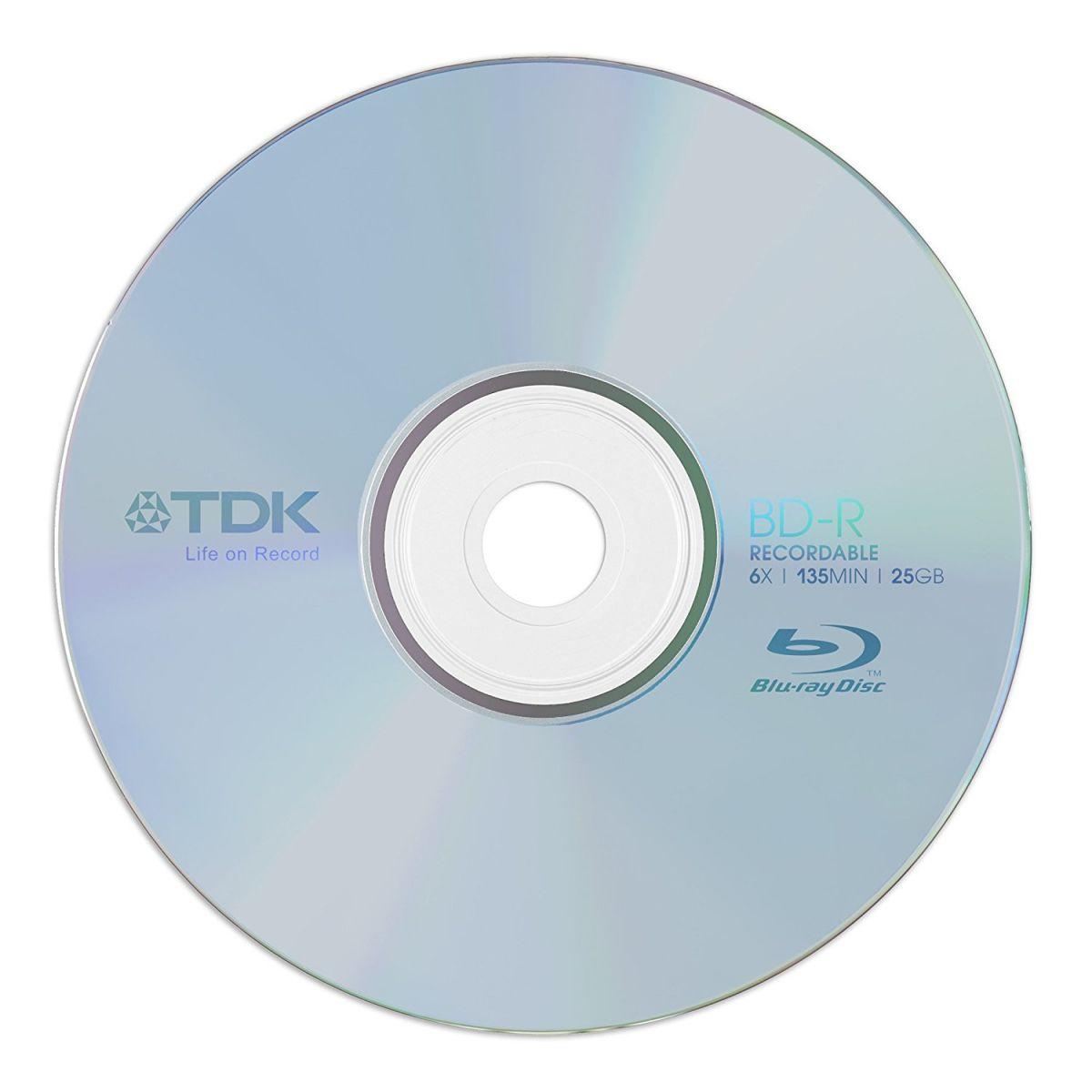 BD-R TDK 25GB 6X