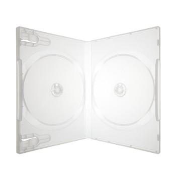 BOX DVD DUPLO TRANSPARENTE - SCANAVO