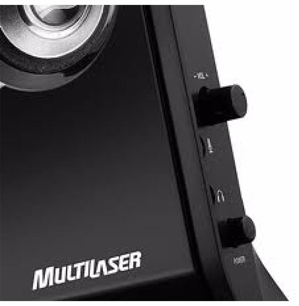 CAIXA DE SOM USB 8W RMS SP091 - MULTILASER