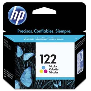 CARTUCHO CH562HB (122) 2ML TRICOLOR - HP