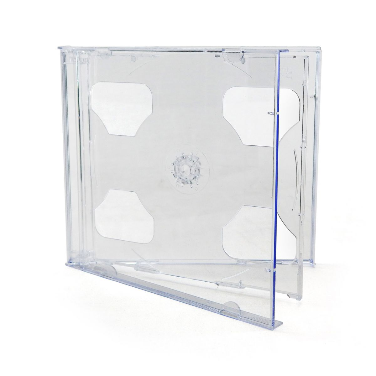 CD BOX DUPLO CRISTAL