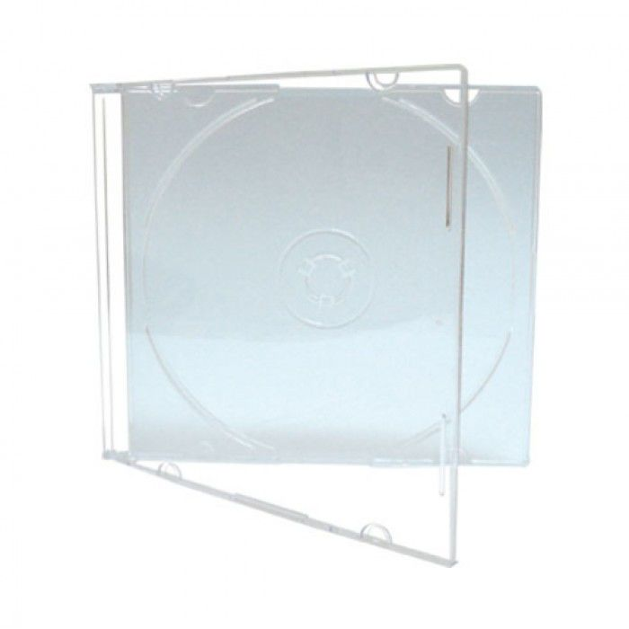 CD BOX SUPER SLIM CRISTAL