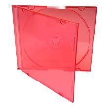 CD BOX SUPER SLIM VERMELHO