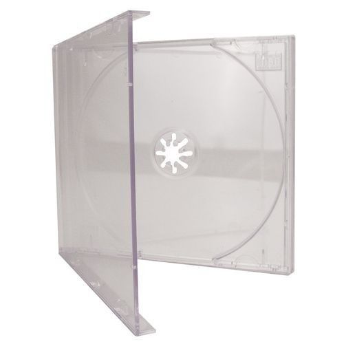 CD BOX TRANSPARENTE