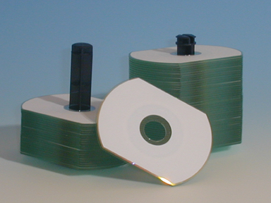 CD CARD OVAL RITEK PRINTABLE 50MB