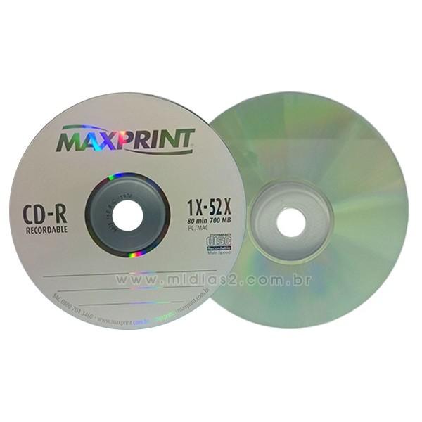 CD-R MAXPRINT 700MB