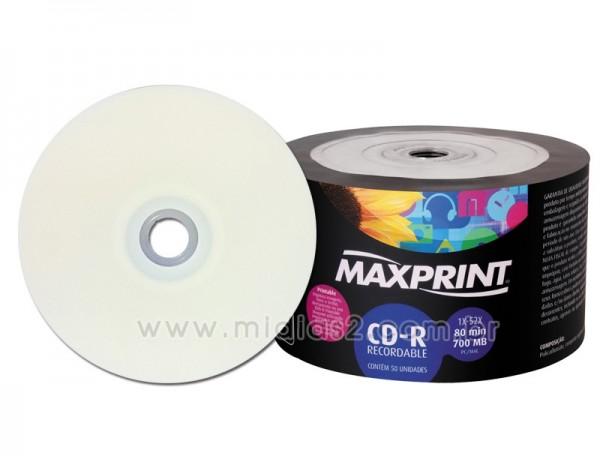 CD-R MAXPRINT 700MB PRINTABLE