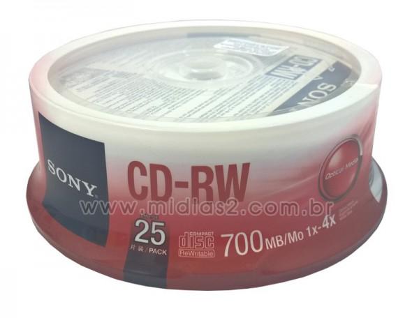 CD-RW SONY 700MB