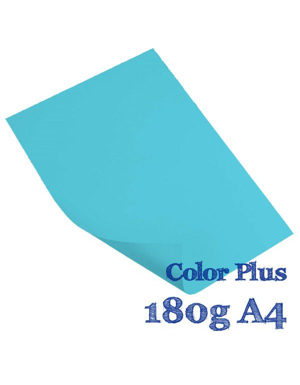 COLOR PLUS A4 BAHAMAS 180G CIAN COM 20 FLS