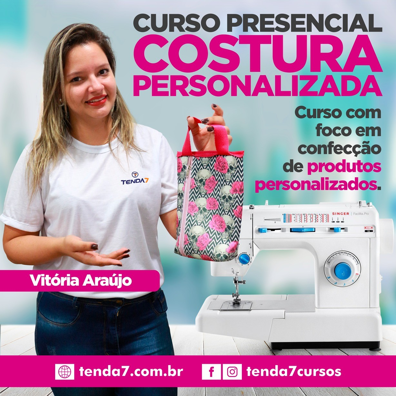 CURSO PRESENCIAL - COSTURA PARA PERSONALIZADOS