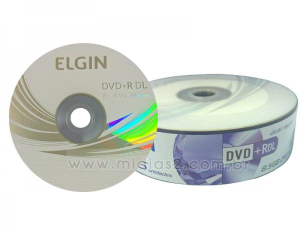 DVD+R DL ELGIN 8.5GB