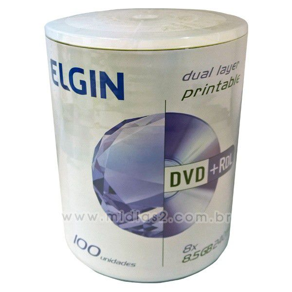 DVD+R DL ELGIN 8.5GB PRINTABLE