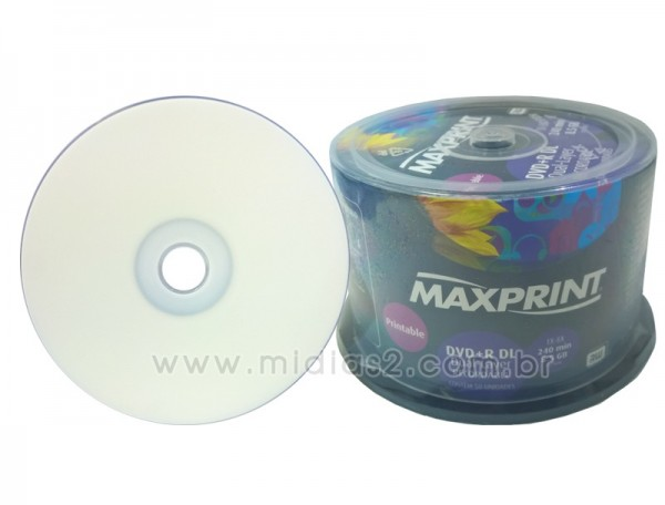 DVD+R DL MAXPRINT 8.5GB PRINTABLE