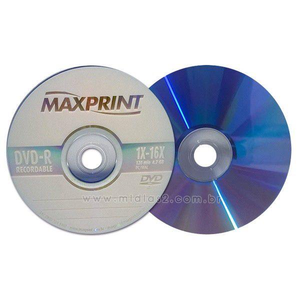 DVD-R MAXPRINT 4.7GB 16X
