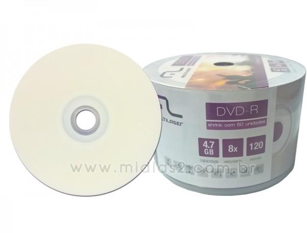 DVD-R MULTILASER 4.7GB PRINTABLE