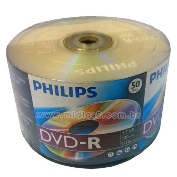 DVD-R PHILIPS 4.7GB 16X