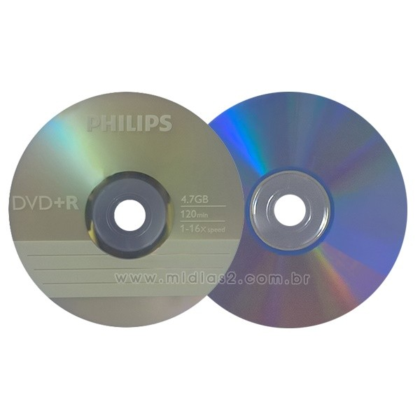 DVD+R PHILIPS 4.7GB 16X