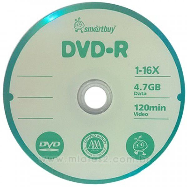 DVD-R SMARTBUY LOGO VERDE 4.7GB 16X