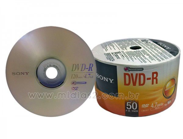 DVD-R SONY 4.7GB 16X