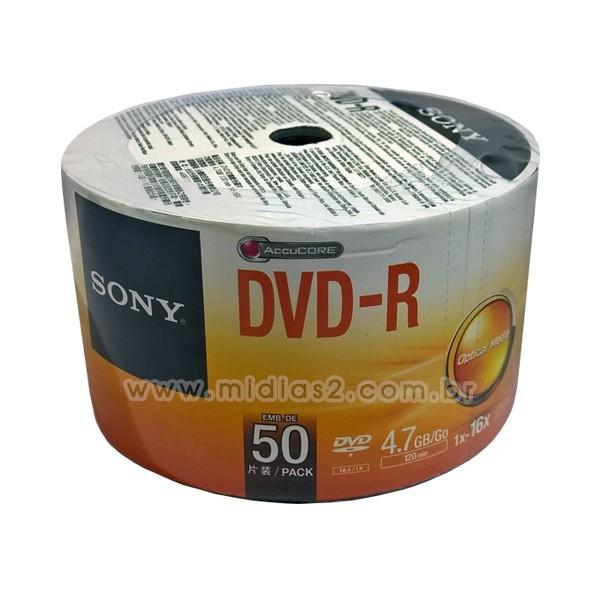 DVD-R SONY 4.7GB 16X