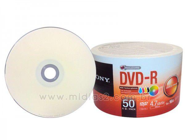 DVD-R SONY 4.7GB 16X PRINTABLE