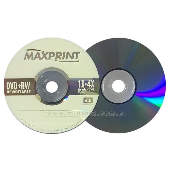 DVD+RW MAXPRINT 4.7GB 4X