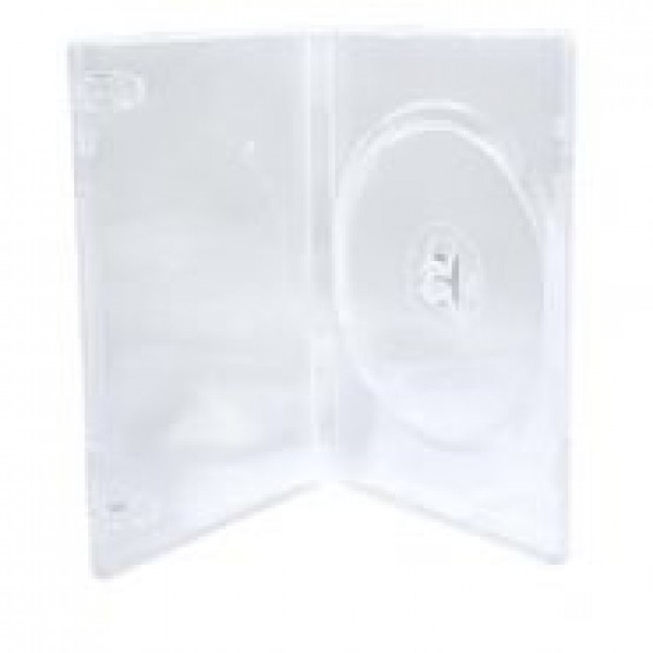 ESTOJO PARA DVD SLIM TRANSPARENTE - AMARAY