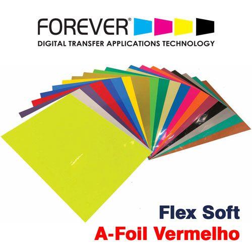 FLEX SOFT A4 NO CUT A-FOIL VERMELHO - FOREVER