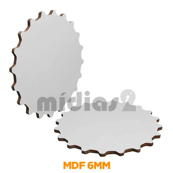 MDF 6MM TAMPA DE GARRAFA 19CM DIAMETRO