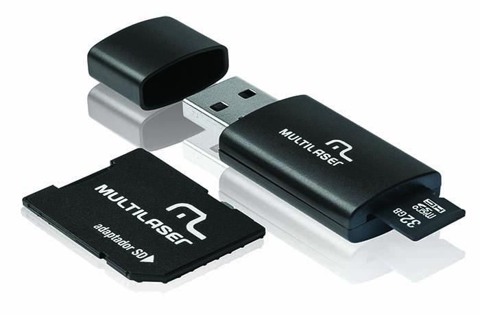 MICRO SD+PEN DRIVE 32GB CLASSE 10 MC113 MULTILASER