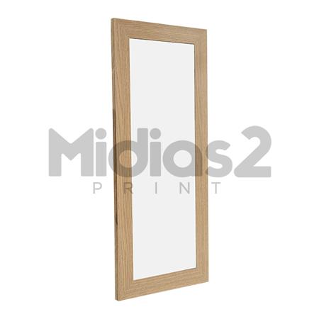 MOLDURA PARA 3 AZULEJOS 15X15 EM MDF DUPLO