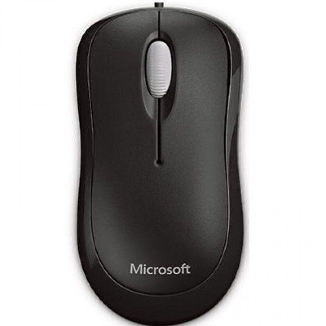 MOUSE USB BASIC ÓTICO PRETO P58-00061 - MICROSOFT