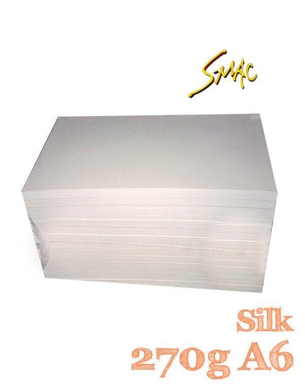 PAPEL 10X15 SILK 270G COM 20 FLS - S-MAC