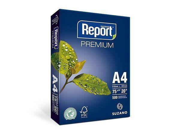 PAPEL A4 75G COM 500 FOLHAS - REPORT