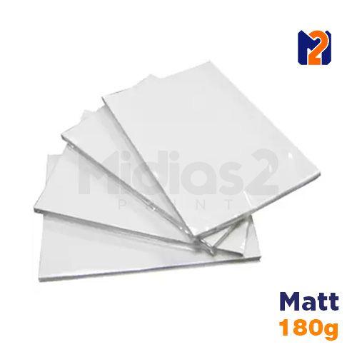 PAPEL A4 FOTO MATT FOSCO 180G - M2 - 20 FLS