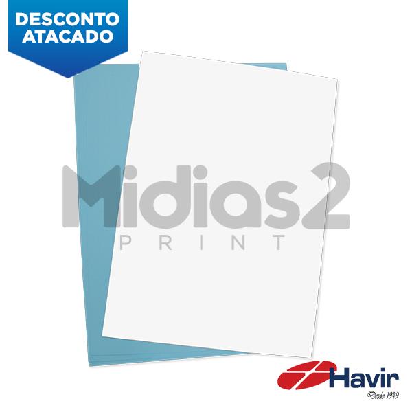 PAPEL A4 SUBLIMÁTICO FUNDO AZUL 50 FLS - HAVIR