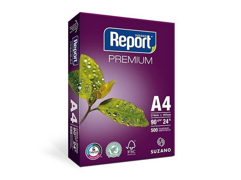 PAPEL A4 SULFITE 90G COM 500 FLS - REPORT