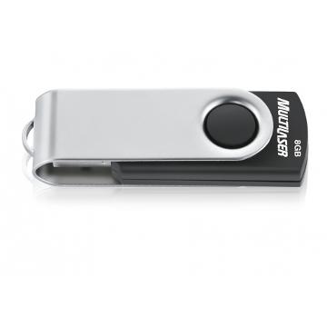 PEN DRIVE 8GB TWIST 2 PD587 - MULTILASER