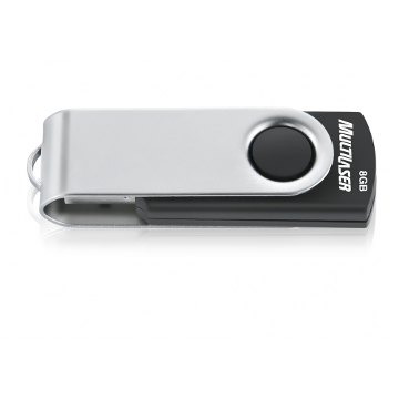 PEN DRIVE 8GB TWIST 2 PD587 - MULTILASER
