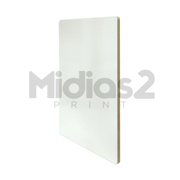 PLACA MDF 3MM 10X15 CM BRANCO SUBLIMATICO