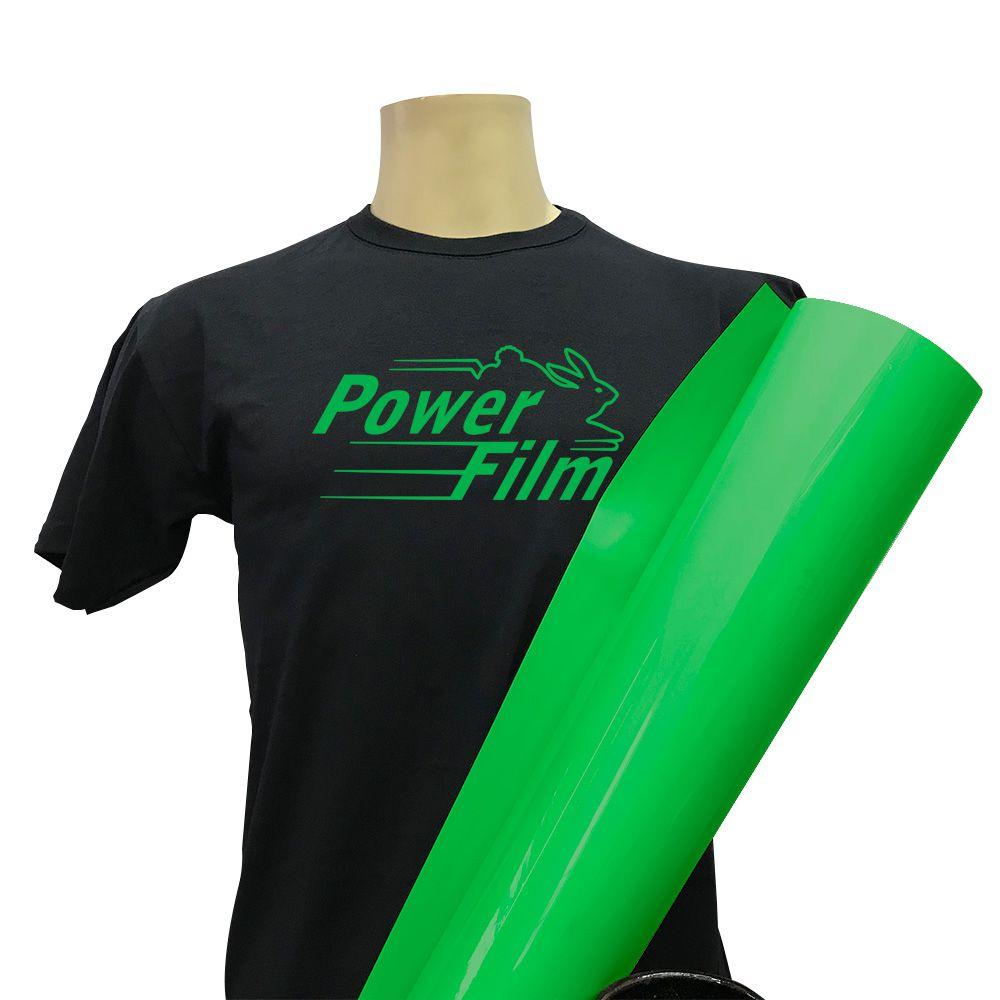 POWER FILM V4 RECORTE 0,50 X 1 MT - VERDE BRASIL